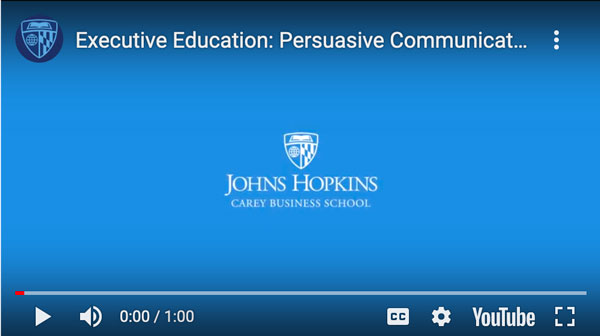 Dr. Steven Cohen - Public Speaking Video 1