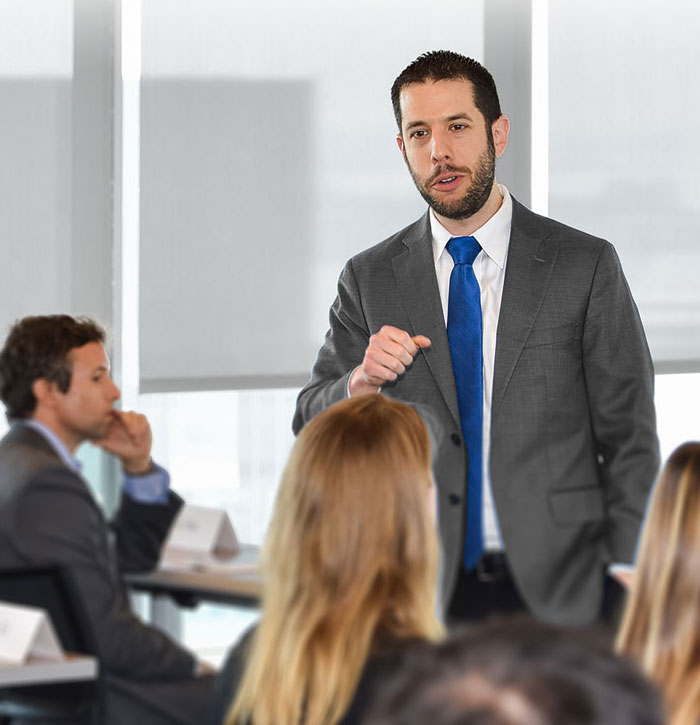 Public Speaking Coach & Trainer - Dr. Steven Cohen